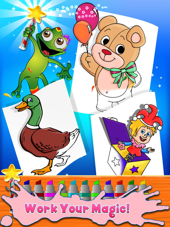 Kids Coloring Book - draw & paint Full Version