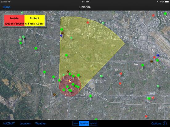HAZMAT Evac iPad Screenshot 2