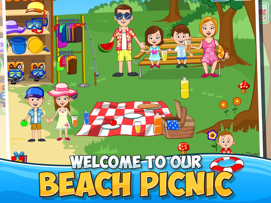 My Town : Beach Picnic Screenshots