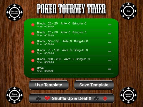Poker Tourney Timer iPad Screenshot 2