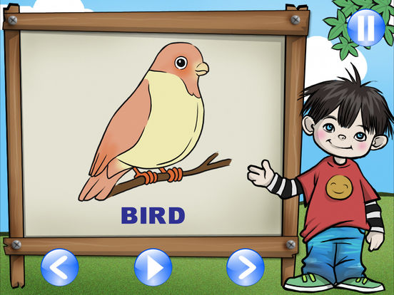 First App for Kid HD - English Indonesia iPad Screenshot 4