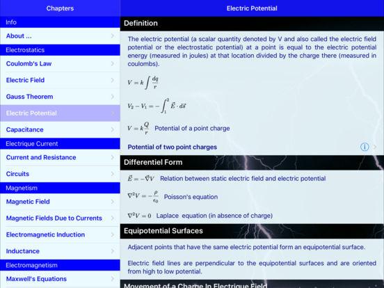 Electromag iPad Screenshot 2
