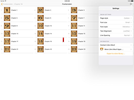 Frankestein (English) iPad Screenshot 2