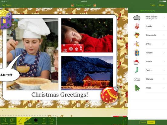 Christmas Lifecards iPad Screenshot 5