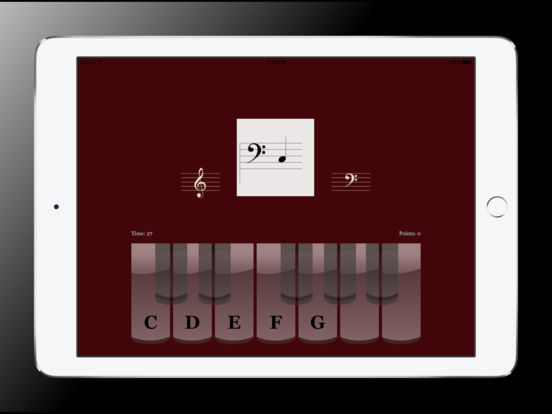 Sight Reading Trainer for iPad iPad Screenshot 4