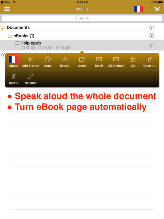 SpeakFrench 2 (14 French Text-to-Speech) Screenshots