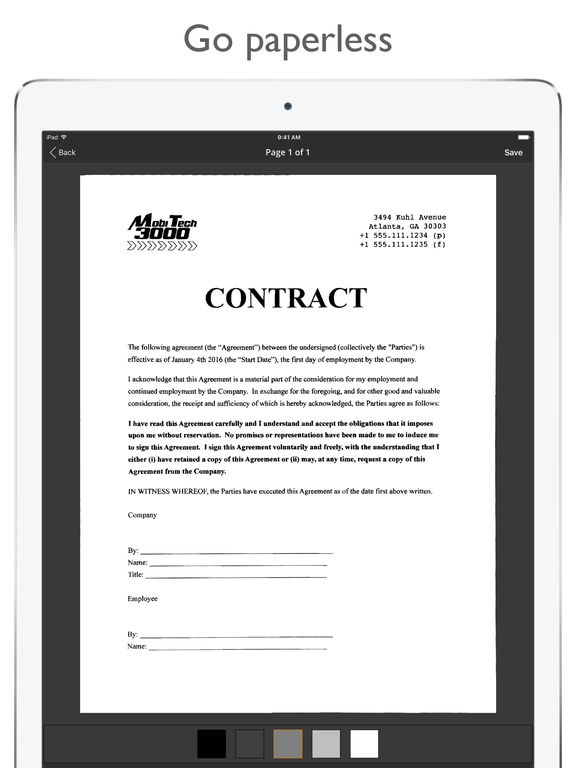 JotNot Pro - PDF document scanner with fax Screenshots