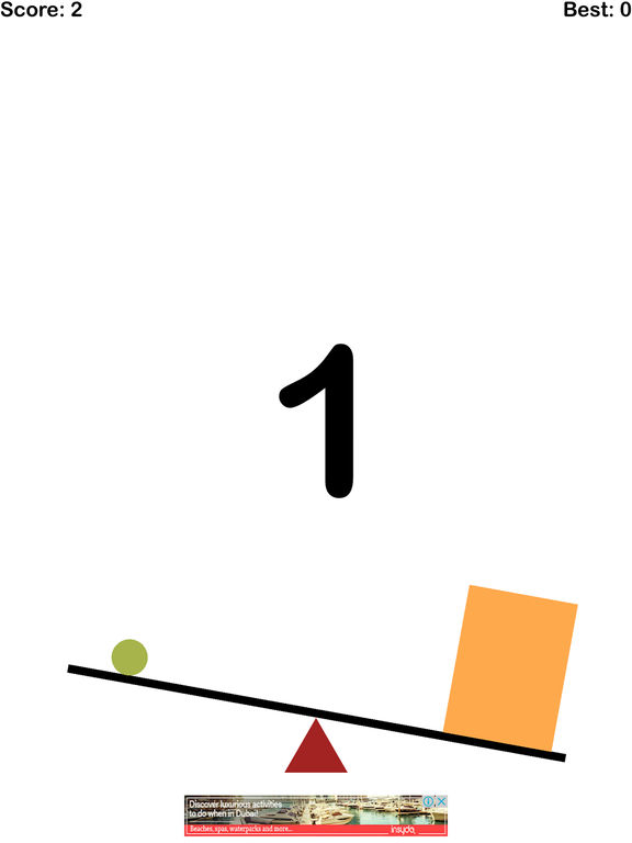 balance™ - balanced the line Challenge Screenshot