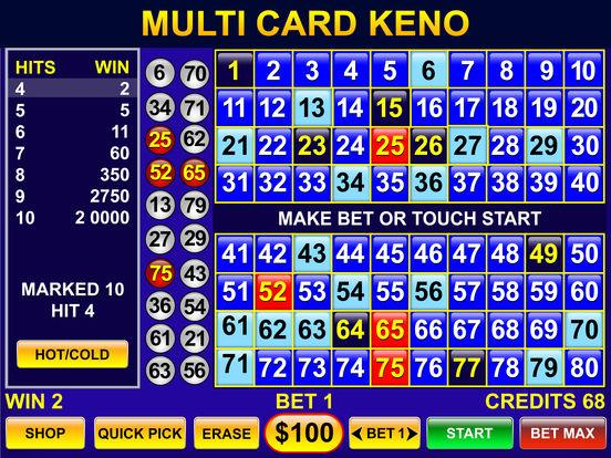 Featured Keno Games