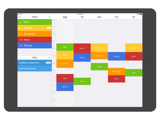 Class Timetable na App Store – Class Timetable