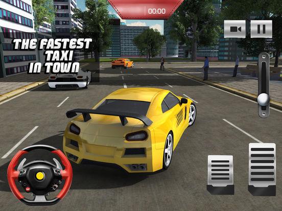 Такси Driver 3D симулятор - Сумасшедший и весело вождение автомобиля и парковка вызов игры Скриншоты7