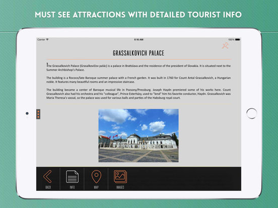 Bratislava Travel Guide iPad Screenshot 3