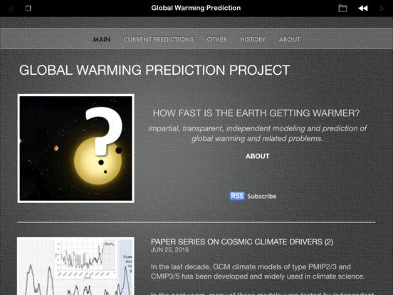 Global Warming Prediction iPad Screenshot 4