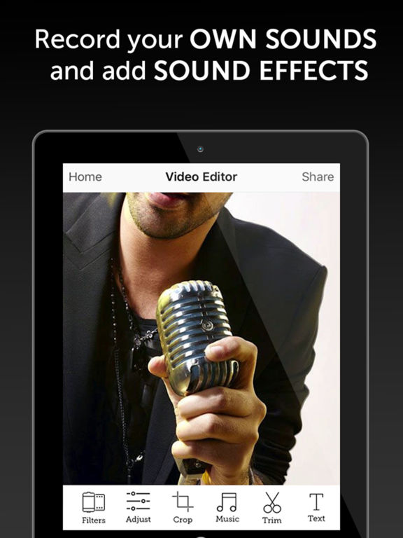 Video Music Editor PRO Screenshots