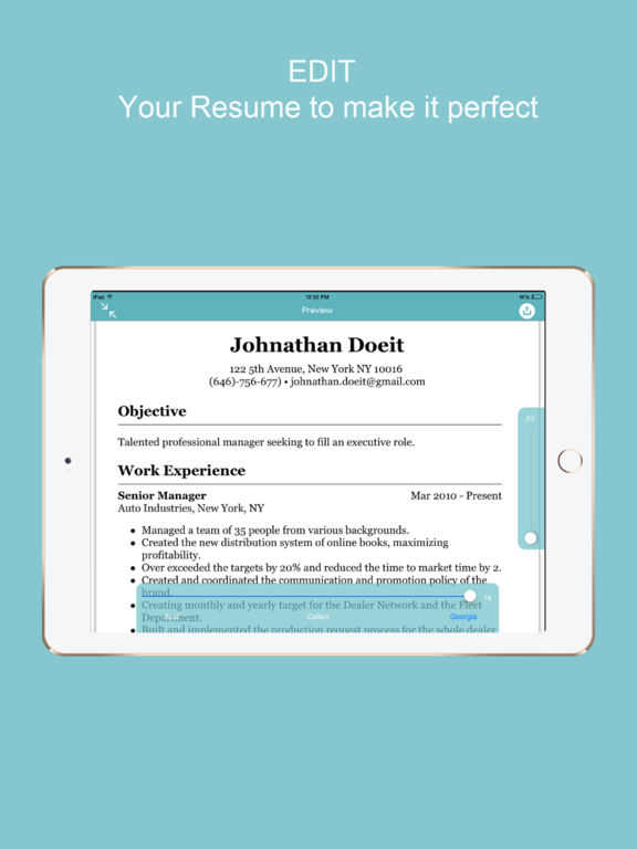 Websites | Vancouver Island Regional Library creating resume on ipad ...
