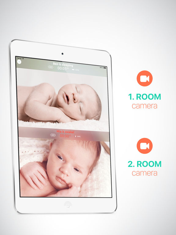 Baby Monitor by Annie - Best Video and Audio Nanny Cam for WiFi, 3G and LTE with Lullabies screenshot