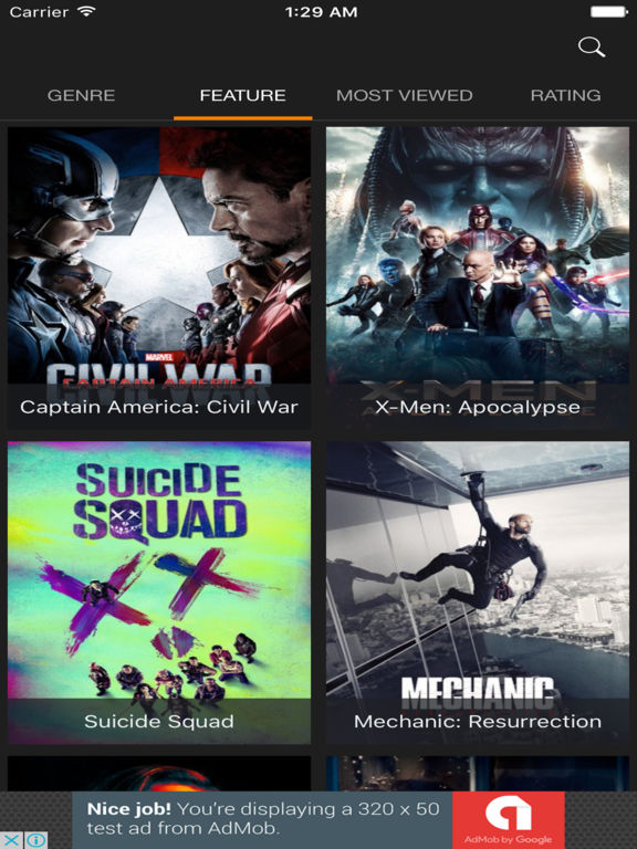 Playmovies HD - Movies Libary Pro Screenshots
