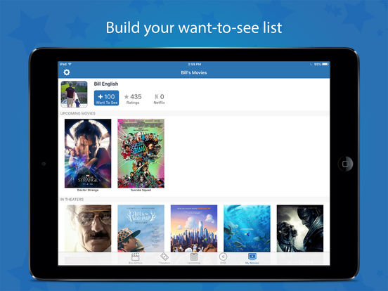 Screenshots of Movies by Flixster for iPad