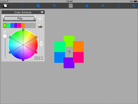 Color Palette iPad Screenshot 2
