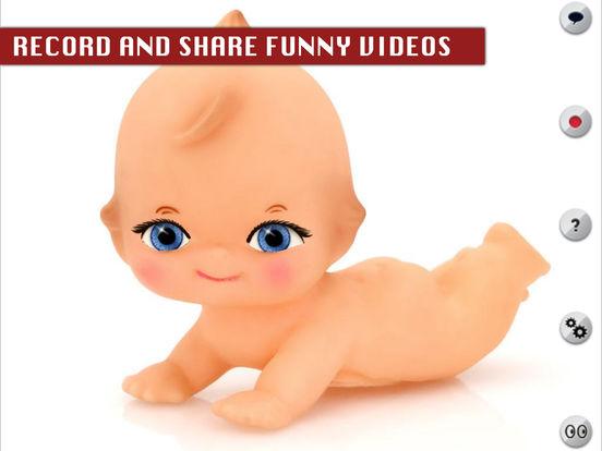 Talking Baby Doll iPad Screenshot 2