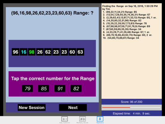 Bel Math Apps releases Math Integers 3.2 - Update to popular iPad App Image