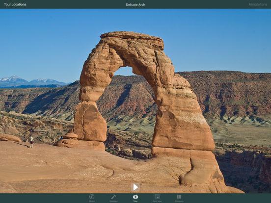 Arches National Park Geology Tour iPad Screenshot 1