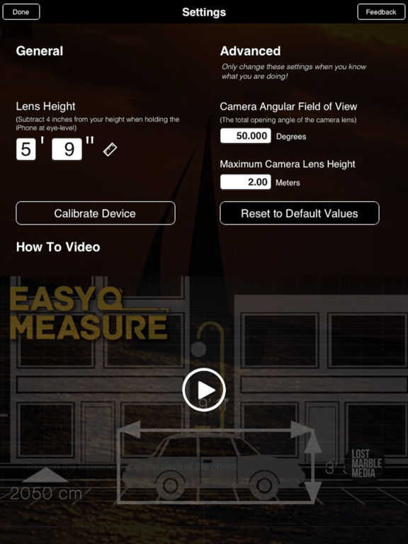 EasyMeasure - Measure with your Camera! Screenshots