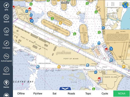 Marine : Florida HD iPad Screenshot 1