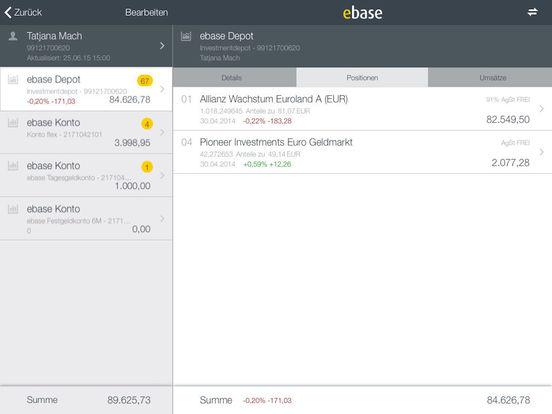 ebase Mobile iPad Screenshot 3