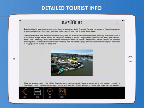 Vancouver City Travel Guide iPad Screenshot 3