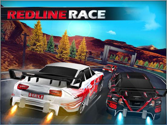 Redline Race - Top 3D Car Stunt Racing Games для iPad