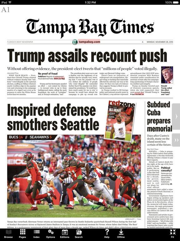 App Shopper: Tampa Bay Times e-newspaper (News)