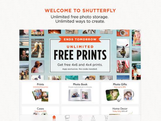 Shutterfly for iPad iPad Screenshot 1