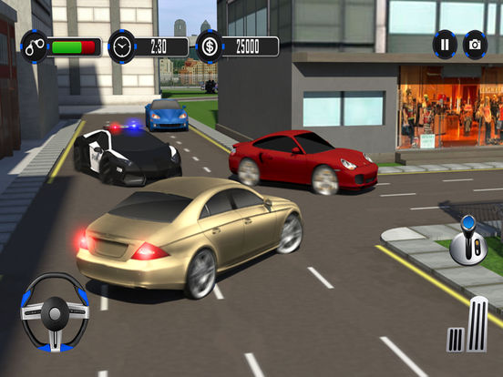 Escape Police Car Chase Game: PRO screenshot 9