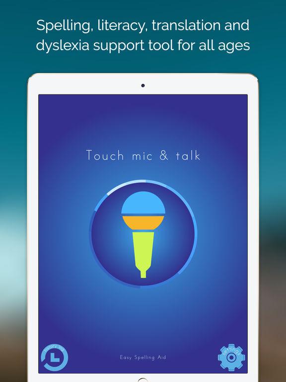 Easy Spelling Aid + Translator & Dyslexia Support Screenshots