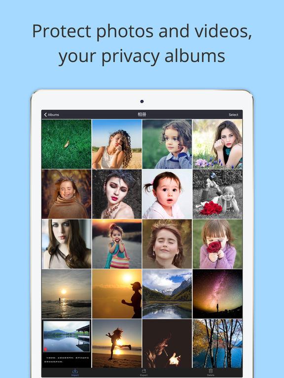Clock Album + – Your Private Album Screenshots