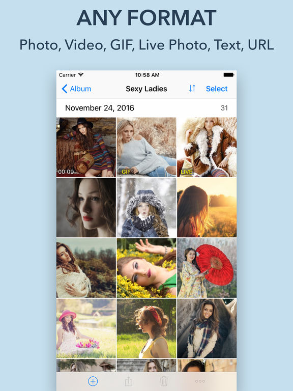 Lock Photo - Hide Photo, Video, GIF Screenshots
