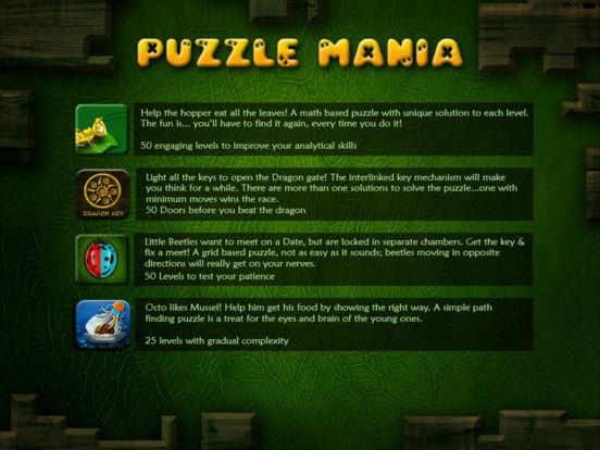 Puzzle Mania iPad Screenshot 3