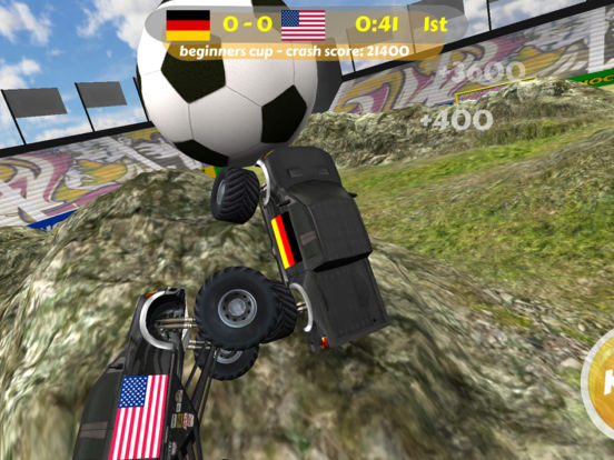 World Hummer Football 2010 iPad Screenshot 1