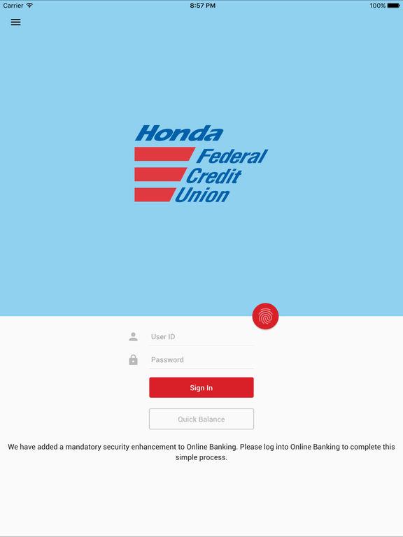app shopper honda fcu mobile banking finance