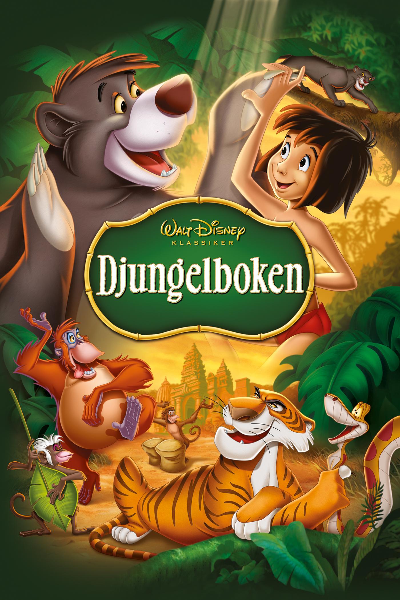 djungelboken svenskt tal
