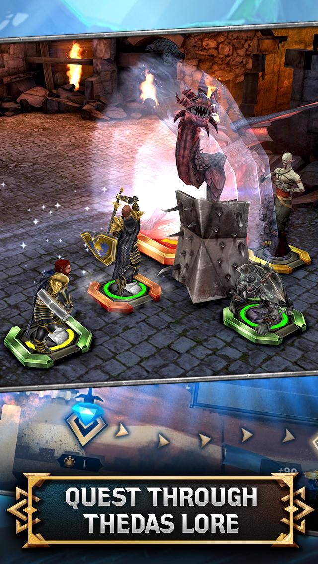 Heroes of Dragon Age screenshot #5