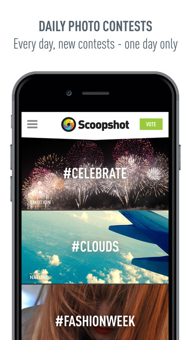 Scoopshot Screenshot