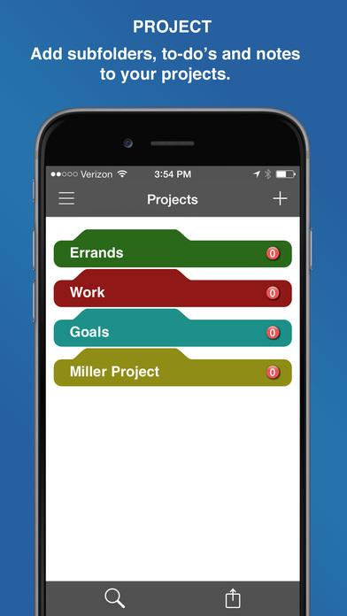 Screenshot InFocus Pro - All-in-One Organizer