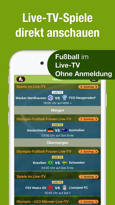 how to screenshot on iphone fussball ergebnisse live zu bundesliga pokal amp wm im 1708