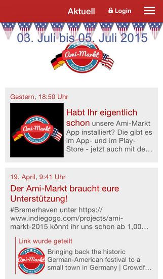 Amimarkt Bremerhaven screenshot 1