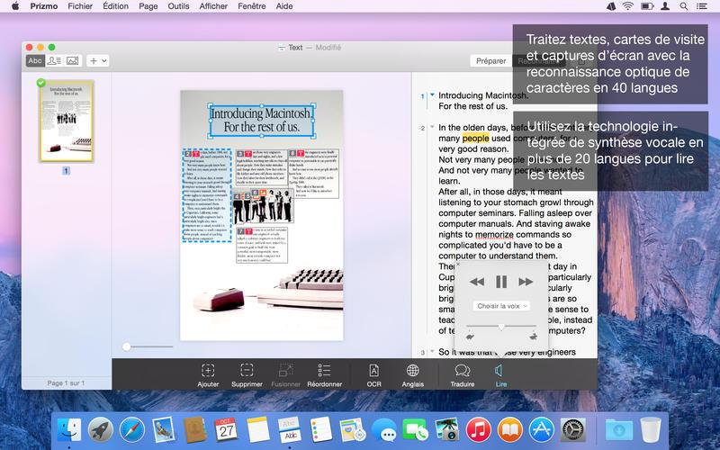 Screenshot Prizmo 3 - Scanning, OCR & lecture de documents