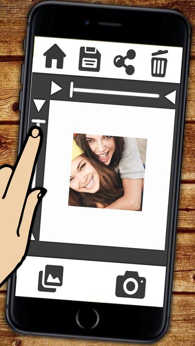 Ultra Télécharger Insta cadre blanc pour Instagram photos avec une PB-89