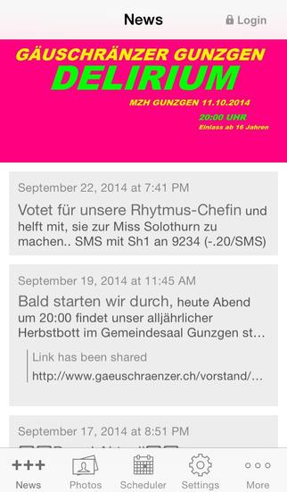 Gäuschränzer Gunzgen screenshot 1