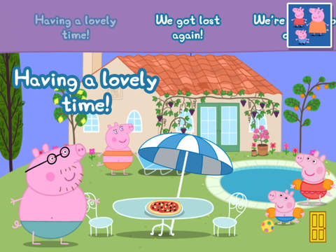 Peppa Pig's Holiday screenshot #3